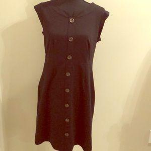 Merona black jumper dress